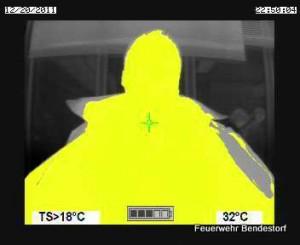 Aufnahme mit dem Thermal Scan