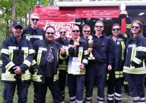 Sieger des 40. Original Hanstedter Feuerwehrmarsches: Freiwillige Feuerwehr Bendestorf